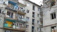 П'яний бойовик з Росії випав з багатоповерхівки в окупованому Луганську