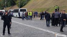 В Киеве возле Кабмина прогремел взрыв: есть раненые
