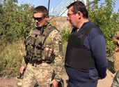 """Луценко побывал в АТО и сделал грозное заявление про """"имитацию опорного пункта"""" на Донбассе"""