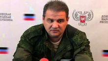 """Вибух в окупованому Донецьку: терористи показали перші кадри з місця підриву """"міністра"""""""