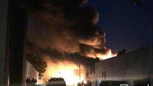 В Белой Церкви горит фармзавод: клубы токсичного дыма идут на город