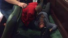 Депутат от БПП жестоко избил коллегу в Киевском облсовете: фото
