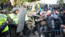 Головні новини 17 жовтня: сутички під Радою, бійки депутатів та втрати на Донбасі
