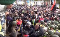 Столкновения под Радой: Геращенко показал видео избиения участника АТО