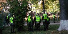 Такого не было со времен Евромайдана: в центр Киева прибыло очень много полиции
