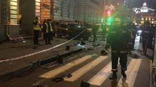 Lexus влетел в толпу людей в Харькове: Геращенко рассказал, кто был за рулем