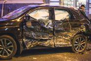 Волонтери оприлюднили цікавий факт про Lexus в Харкові, який влетів у натовп людей