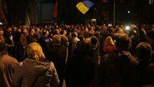 Віче у Києві: протестувальники озвучили нову вимогу до Порошенка