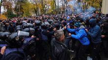 Серьезные столкновения произошли в Одессе: разбили голову шефу местной полиции