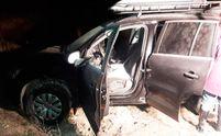 """Грабіжники зі стріляниною """"обчистили"""" авто на Житомирщині, викравши десятки кілограмів золота"""