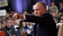 Як змінювалися відповіді Путіна про російські війська на Донбасі з початку війни: відео