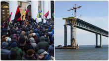 Головні новини 17 грудня: штурм екс-Жовтневого палацу, Керченського мосту більше не буде