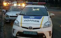 В Киеве таксист под наркотиками протаранил авто полицейских: есть пострадавшие
