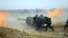 """Бойцы """"Грузинского легиона"""" попали под мощный артобстрел на Донбассе, есть раненые"""