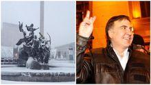 Главные новости 18 декабря: Киев завалило снегом, новые выходки Саакашвили