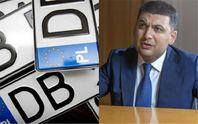 """Авто на """"еврономерах"""": Гройсман заявил, что водители должны платить ввозную пошлину"""