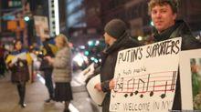 У США пройшла акція проти музикантів, які підтримують анексію Криму