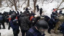 В Национальном корпусе прокомментировали столкновения под Соломенским судом