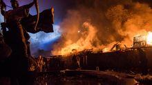 """Кривавий """"Бумеранг"""": з'явилась відеореконструкція штурму Євромайдану 18 лютого 2014 року"""