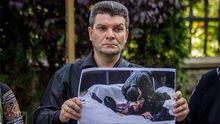 Отец погибшего Голоднюка рассказал, о чем говорил с Луценко