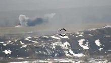 Українські бійці знищили  ворожий БМП: яскраве відео