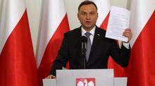 Дуда звинуватив українців у геноциді народу Польщі
