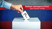 Вибори президента Росії: дані екзит-полів