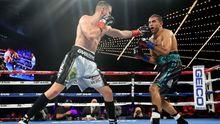 Гвоздик завоевал титул временного чемпиона мира по версии WBC: яркие фото боя