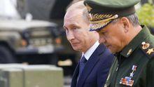 Путин объявил военные сборы запаса