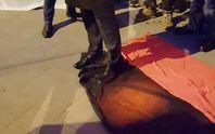 У Варшаві пройшла антиукраїнська акція: спалили портрети Бандери і Шухевича