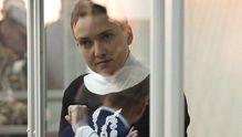 Савченко звернулась до Путіна з зали суду