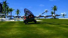 Антена з морської води. Літак-гелікоптер, на якому кожен може дістатися на роботу