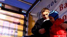 Транспортная остановка с отоплением появилась в Киеве