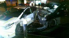 Учасник нічної аварії з поліцією розповів свою версію причини ДТП