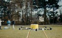 Как выглядит инновационный беспилотник, предназначенный для зачистки минных полей