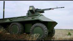 Українці розробили безпілотнй міні-БТР для завдань на передовій