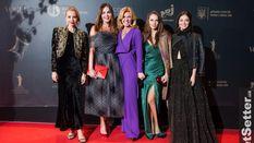 """""""Золота Дзиґа"""" в кращих голлівудських традиціях: фото гостей з червоної доріжки"""
