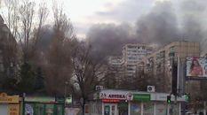 В Одесі горить великий ринок: опублікували фото та відео