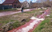 """Аварія на заводі в Росії: місто залило """"ріками"""" соку"""