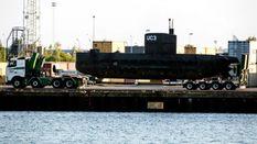 Исчезновение журналистки с подводной лодки: субмарину подняли на поверхность
