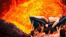 Развлечения опального Жириновского в бассейне высмеяли в сети: забавные фотожабы