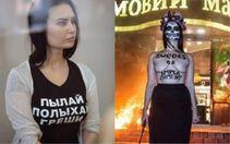 Під арешт взято активістку Femen, яка спалила трамвай біля магазину Roshen: є фото з зали суду