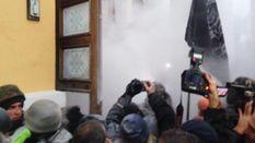 В полиции обнародовали свою версию событий под бывшим Октябрьским дворцом в Киеве