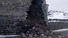 У Кам'янці-Подільському обвалилась частина легендарної фортеці: фото