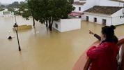 Південь Іспанії затопили сильні дощі: вражаючі фото стихії
