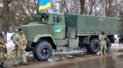 Грузовик с бойцами АТО взорвался на Донбассе