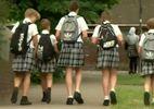 В одной из школ Англии ребята пришли на уроки в юбках в знак протеста