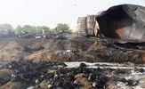 Смертельная пожар в Пакистане: из-за возгорания бензовоза погибли более 100 человек
