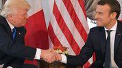 Макрон і Трамп погодили спільні дії в разі чергової хімічної атаки у Сирії