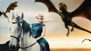 """Бель Тіррел та Ельза Таргаріен: художник перетворює принцес в героїнь """"Гри престолів"""""""